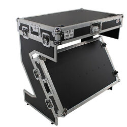 Prox Xs-ztablejr Dj Z-table Jr Workstation Portable Booth Case W/handle And Wheels