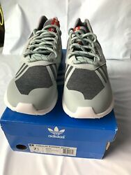 Adidas Tubular Runner Weave Light Gray/mint/red Menandrsquos Sneakers S82650 Size 7.5