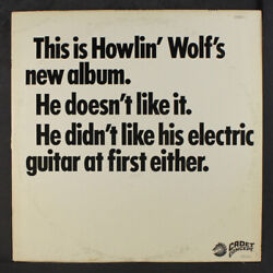 Howlin' Wolf This Is Howlin' Wolf's New Album Cadet Concept 12 Lp 33 Rpm