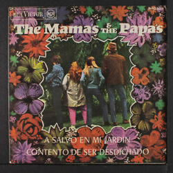 Mamas And Papas Safe In My Garden / Glad To Be Unhappy Rca Victor 7 Single