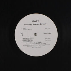 Maze Feat. Frankie Beverly You + 2 Capitol Records 12 Single 33 Rpm