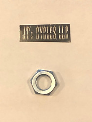 Vtwin Motorcycle Single 7/16-20 Clutch Adjuster Jam Nut 85-17 Harley Touring