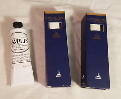 Group Of High Quality Oil Paints In Small Tubes