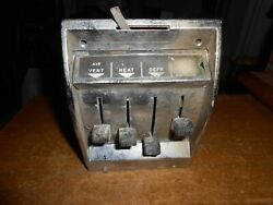 Vintage 1957 Chevrolet All Models Temperature Control Assembly 3138081