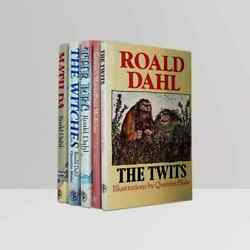 Roald Dahl [quentin Blake] Andndash Set Of First Editions Books - Rare 1st Collection