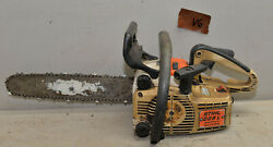 Vintage Stihl 009l Electronic Quick Stop Chainsaw Collectible Arborist Saw V6