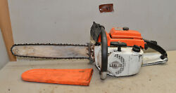 Vintage Stihl 041av Monster Logging Chainsaw Collectible Wood Cutting Tool V5