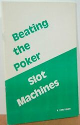 Beating The Poker Slot Machines By Cohen, R. Carl Book The Fast Free Shipping