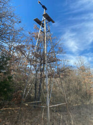 Metal Windmill Tower Without Blade
