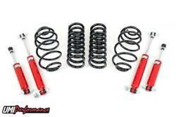 Umi Performance 67 Chevelle A-body 1 Drop Shock And Spring Kit Front And Rear
