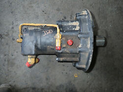 John Deere 332d Skid Steer Loader Rh Hydraulic Drive Motor At330338 328 325 326e