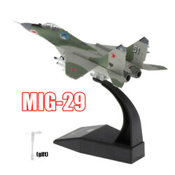 1100 Mig-29 Fighter Aircraft Model Plane Air Force Military Toy Ornaments