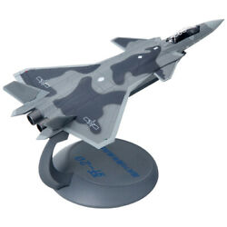 1144 F-20 Aircraft Model Alloy Simulation J20 Military Model Fighter Ornaments