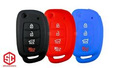 3x New Key Fob Remote Fobik Silicone Cover Fit / For Hyundai..