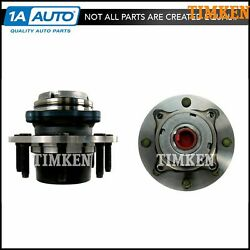 Timken Front Wheel Hub And Bearing Pair Set For 99 Super Duty Pickup Truck 4wd 4x4