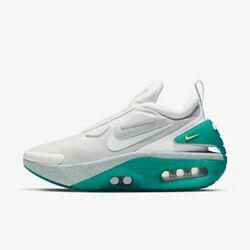 Nike Adapt Auto Max - Jet Stream White Green / Cz6798-001 / Mens Shoes Sneakers