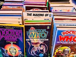 Giant Collectors Lot Of 49 Classic Dr. Who Books Paperback