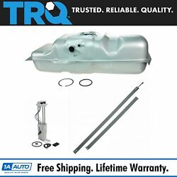 Trq Fuel Tank With Straps And Electric Fuel Pump/sending Unit Kit 18.5 Gal For Gm