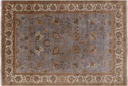 5and039 11 X 8and039 9 Hand-knotted Traditional Wool Rug - Q6157