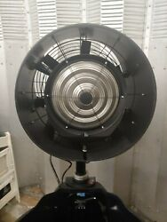 Power Breezer Mach 2 Portable Misting Fan. Used But In Great Condition.andnbsp