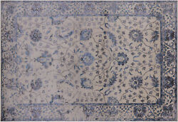 6and039 2 X 9and039 1 Wool And Silk Handmade Rug - Q6220