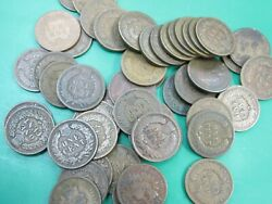 1 Roll Indian Head Cents Mixed Dates - 50 Coins - 1900 - 1909 Good-fine Ihc Q4v5