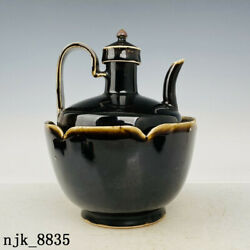 8 Rare China Antique Song Dynasty Ding Porcelain Wine Thermos