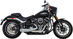 Freedom Combat 2-1 Shorty Chrome Motorcycle Exhaust 2018 Harley Softail Fxfb