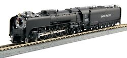 N Scale Fef-3 Steam Locomotive - Up Freight Version 838 - Kato 126-0402