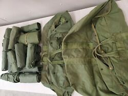 Army Military Flight Bag And Wet Weather Bag Lot Of 19 Cd89