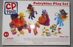 Cp Toys By Constructive Playthings Fairykins And Friends Ship 28-piece Playset