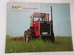 Massey Ferguson 1500 And 1800 4wd Farm Tractor Brochure 16 Page Good 1971