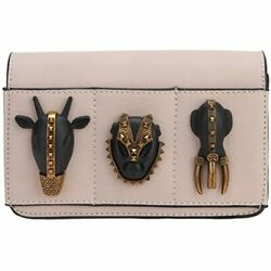 Fawziya Animal Evening Clutches For Prom Pu Leather Purse Chain Pink Handbags $47.94