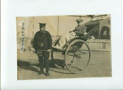 Large Size 1800's Antiques Real Photo Us Visitor In Japan