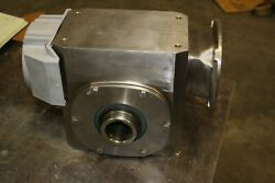 Baldor Stainless Steel Gear Reducer 501 Ratio Cat Ssghf5032bh 1.83 Hp Wash Down