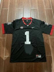 George Pickens 100th Anniversary Blackout Black Jersey Size Small - 2xl
