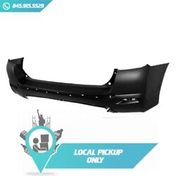 Local Pickup Bumper Cover Rear Fits Toyota Highlander 2011-2013 To1100289