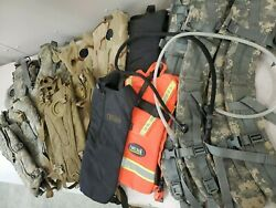 Army Military Mix Acu Hydration And Damaged Straps Lot Cd122
