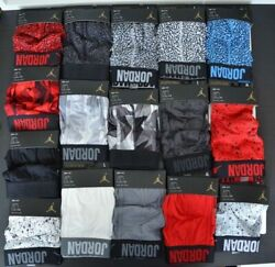 Air Jordan Menand039s Briefs- Package Of 5- Same Color/pattern- Size Large