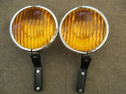 7 Inch1936-1940 Appleton Fog Lights Gm Chevy Ford Others