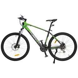 Jetson Adventure Electric Bicycle Green/black - Lightweight E-bike With 21-spee