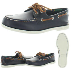 Sperry Menand039s Authentic Original Plush Varsity Leather 2-eye Loafer Boat Shoes