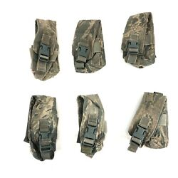 6 Abu Triple Mag Pouch Molle Air Force Pouches For Dflcs Kits Usaf Defect