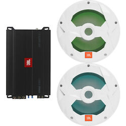 Jbl Stage 3001 Subwoofer Amplifier 1 Pair Qty 2 Of 10 White Led Subwoofers