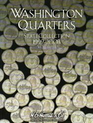 Washington Quarters State Collection 1999 - 2003 By Whitman Book The Fast Free