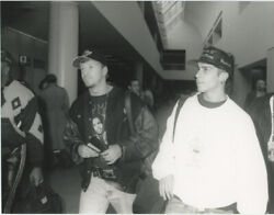 New Kids On The Block Donnie Wahlberg And Danny Wood 1991
