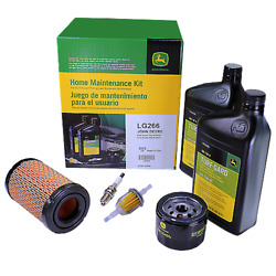 John Deere Home Maintenance Filter And Oil Kit Lg266 E100 Lawn Tractor
