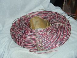 Western Electric.... 22 Gauge Cloth Covered 3-wire.......6000 Total Feet Of Wire