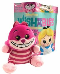 Disney Parks Cheshire Wishables Mad Tea Party Alice in Wonderland Plush Doll NEW