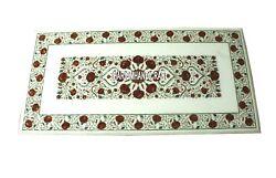 Marble Counter Tops Table Art Inlay Intricate Carnelian Work Kitchen Decor H3905